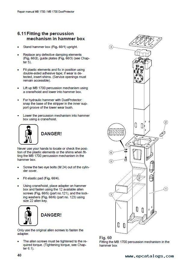 atlas manual hydraulic press servicing guide