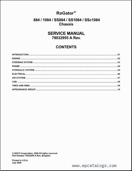 ag chem epsilon europe parts service manuals 2015 download rh epcatalogs com rogator operator's manual rogator 1274c operators manual