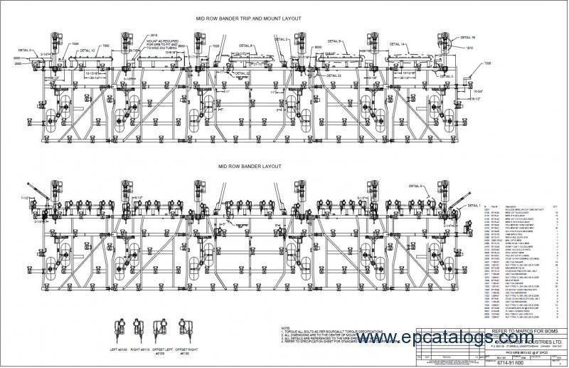 Bourgault Eds Spare Part Catalog Repair Manual Download