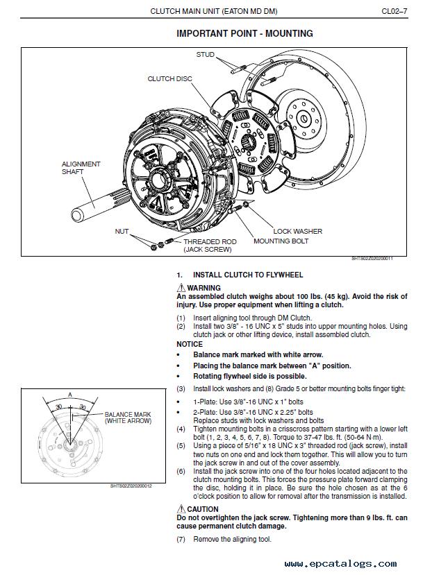 Hino Trucks 238  258lp  268  338  358 Pdf Set Of Manuals