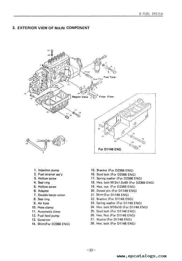 daewoo doosan dv11 d1146 t  d2366 t  diesel engine pdf