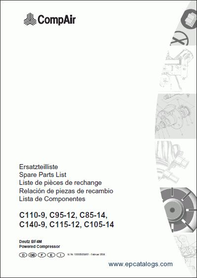 deutz engine wiring diagram compair spare parts catalog download  compair spare parts catalog download