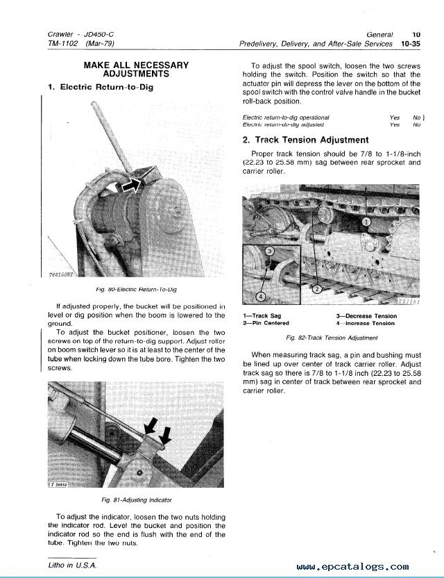 john deere 450c crawler tm1102 technical manual pdf rh epcatalogs com john deere 450c dozer manual for free john deere 450 dozer parts manual pdf