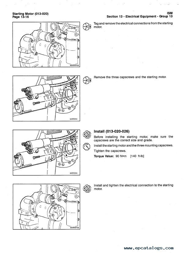 Cummins ISM / QSM11 Series Engines Troubleshooting and Repair Manual PDF