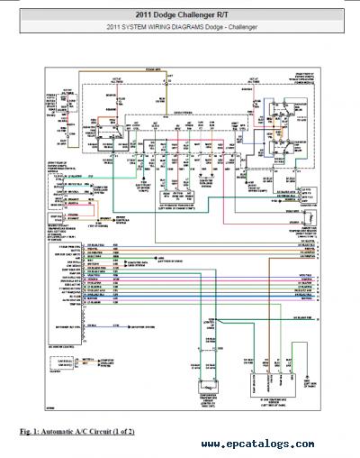 2012 Dodge Challenger Engine Diagram