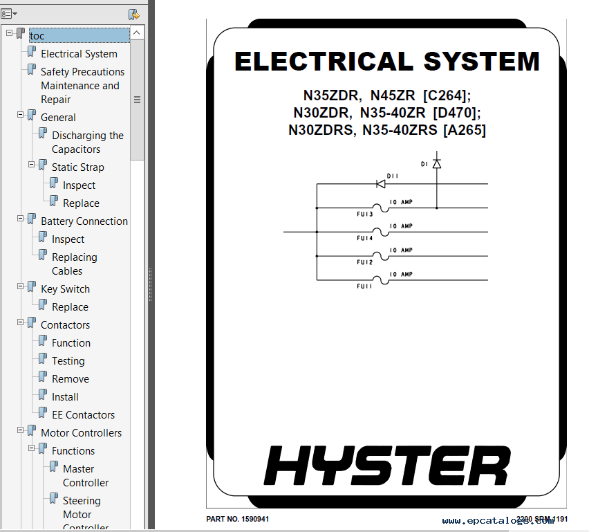 Hyster Class 2 D470 Electric Motor Narrow Aisle Trucks Pdf