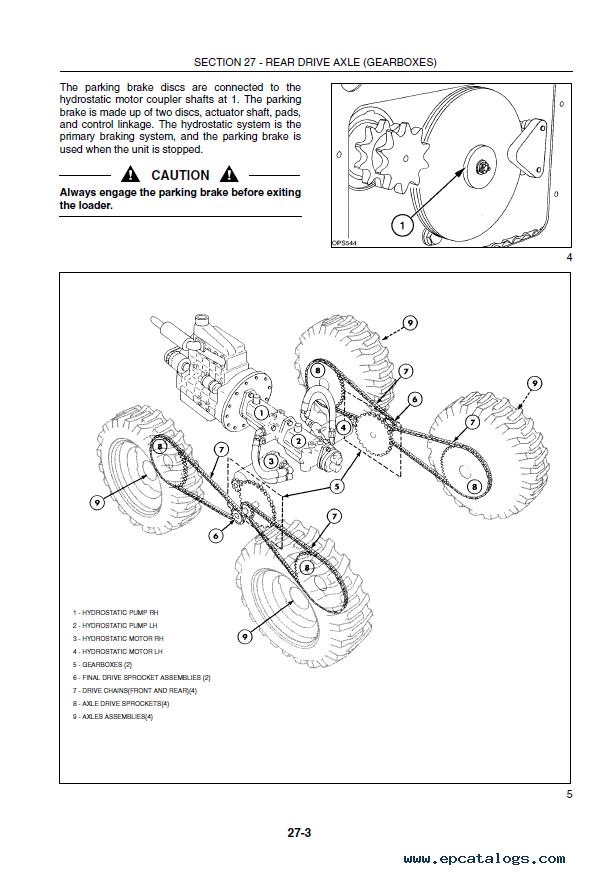 New Holland LS160 LS170 Skid Steer Loader PDF ManualEPCATALOGS