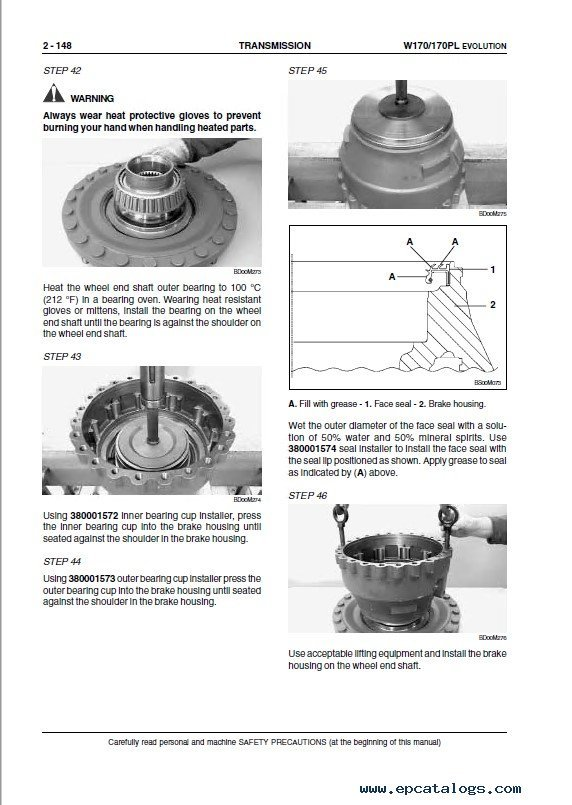 Fiat Kobelco W Pl Evolution Wheel Loader Service Manual Pdf