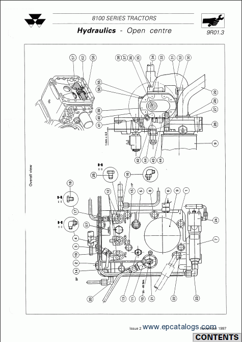 Massey Ferguson Tractors 8100 Series Workshop Manual Download