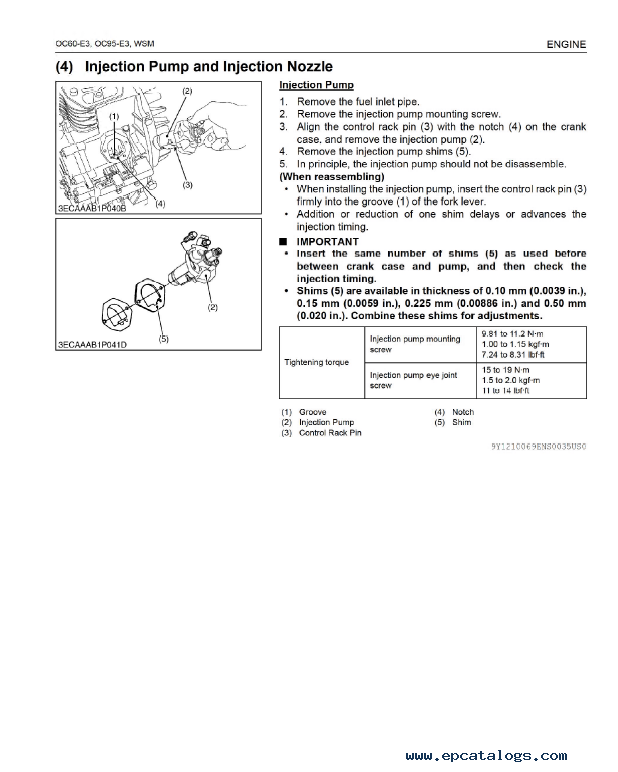 kubota oc60 e3 oc95 e3 diesel engine workshop manual pdf 9y111 rh epcatalogs com M9000 Kubota Tractor Wiring Diagrams Kubota Wiring Diagram PDF