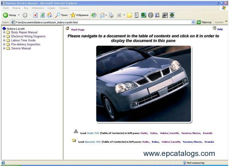 Daewoo / Chevrolet TIS Europe