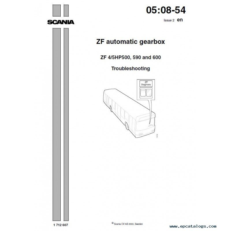 zf500 zf automatic gearbox 4 5hp500, 590, 600 pdf manuals zf ecomat wiring diagram at gsmx.co