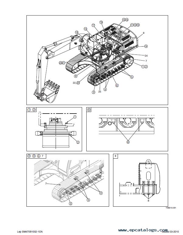 Case Cx470b Crawler Excavator Service Manual Pdf