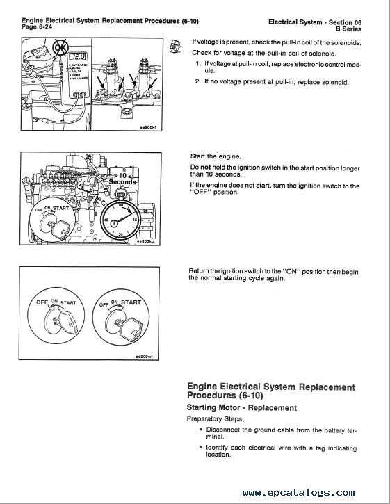 Cummins Engine B Series Repair Manual Download