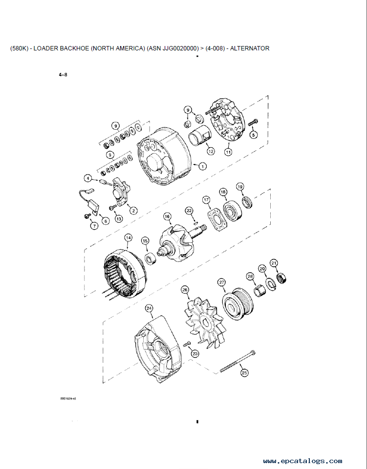 Case 580k Parts Diagram