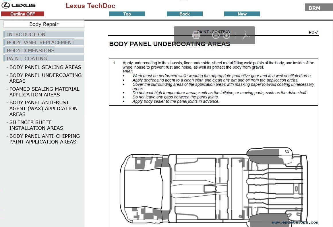 Lexus Gx460  Gx400 Service Manual Pdf Download