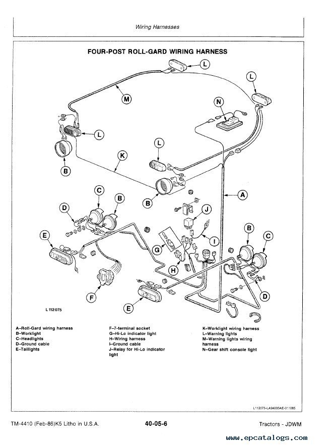 John Deere 3150 Tractor Tm4410 Technical Manual Pdf