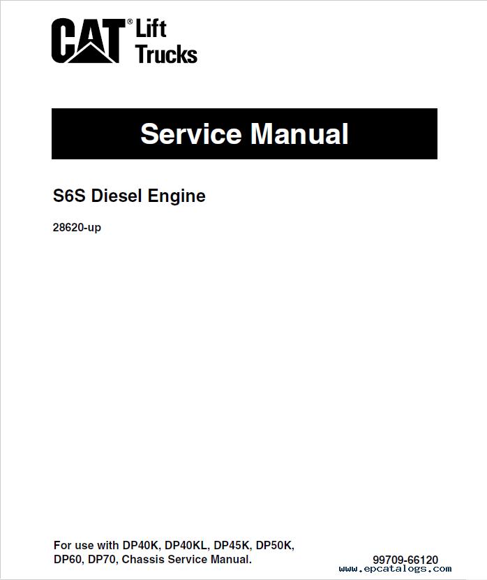 cat gp40  gpl40  dp40  45  50  dpl40 service manuals pdf