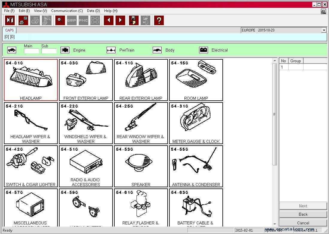 strada avtomobilej wiring mitsubishi zapchasti catalog sportero parts attaching dlya for triton