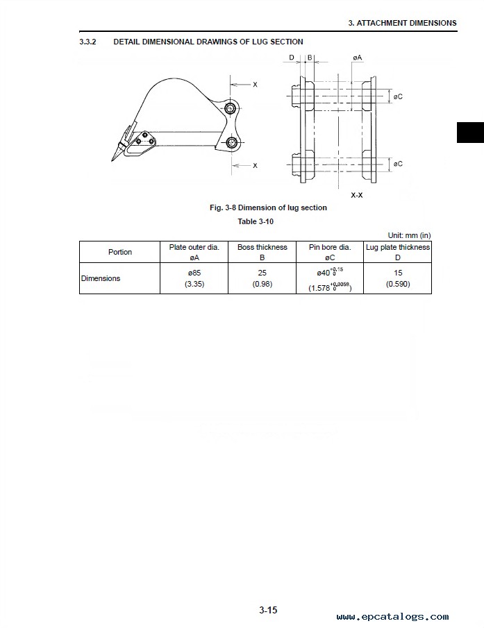 case cx31b  u0026 cx36b hydraulic excavator shop manual pdf