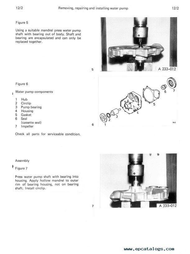 Man D 2565 ME, D 2566 ME/MTE/MLE, D 2866 E/TE/LE Diesel Engines Repair  Manual PDF