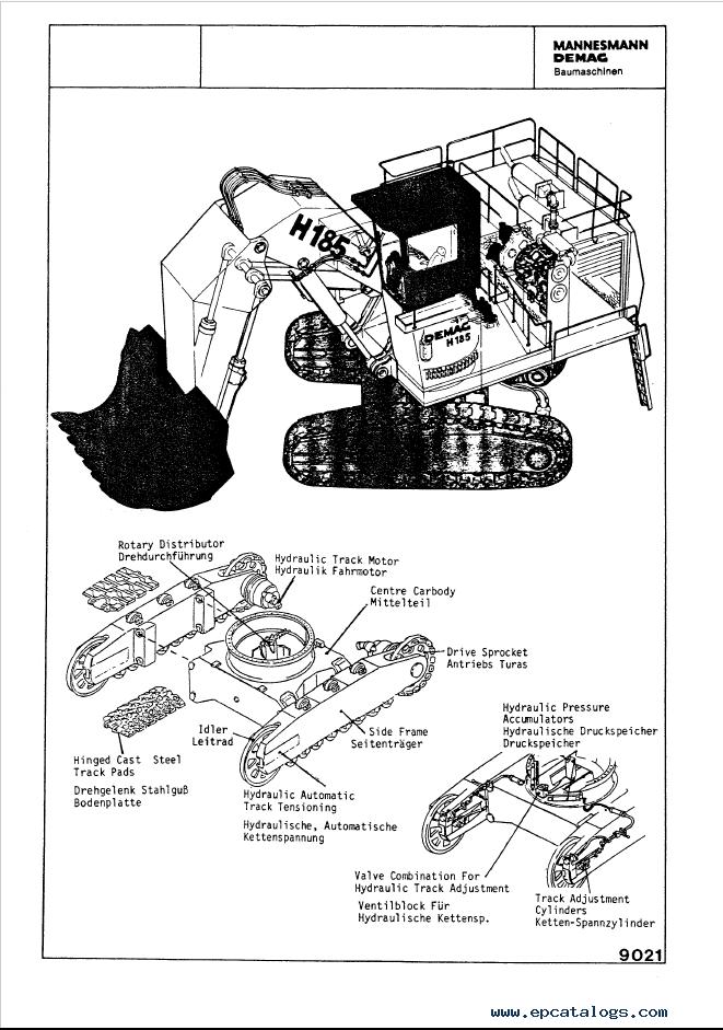 Komatsu Mining Shovel H185s Set Of Shop Manuals Pdf  Repair Manual  Heavy Technics   Repair