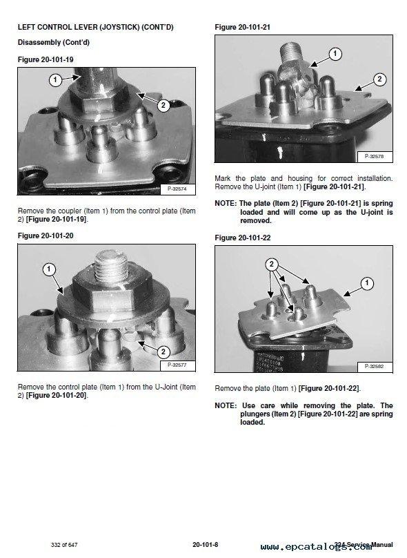 Bobcat 324 Compact Excavator Service Manual Pdf