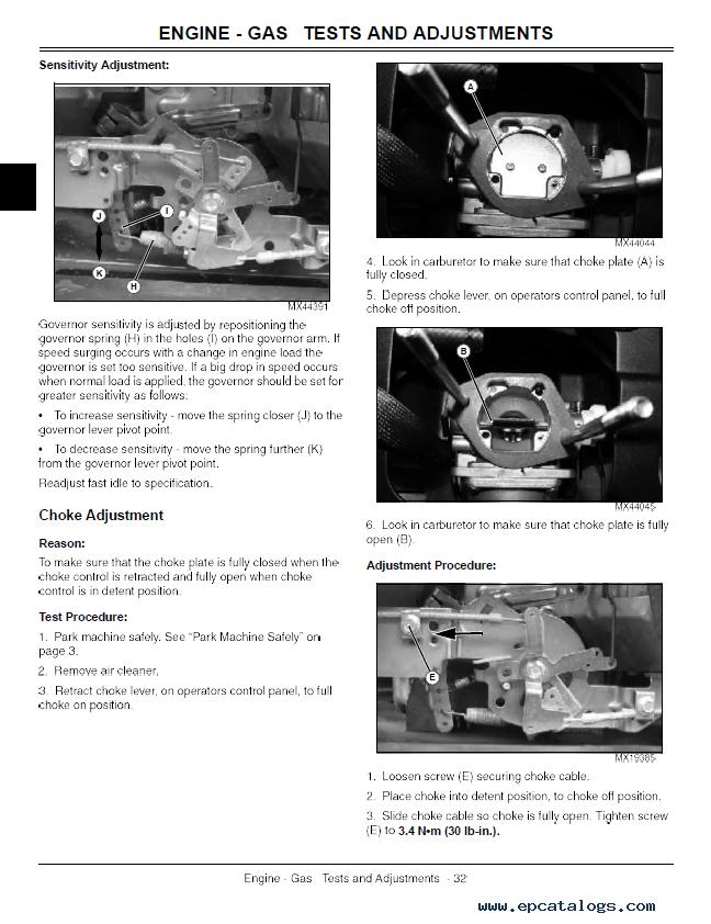 repair manual john deere z710a, z720a mid-frame ztrak mower tm111019  technical manual pdf