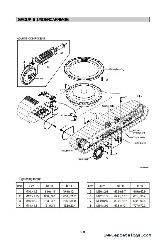 toyota corolla undercarriage diagram