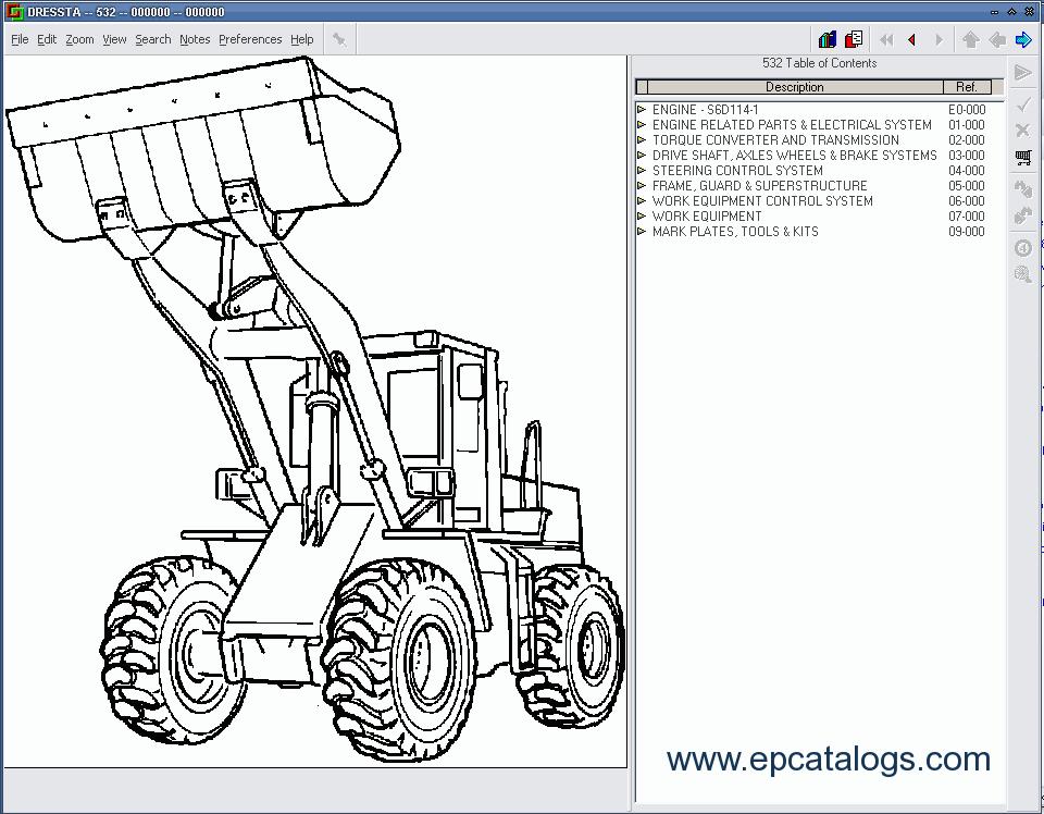 komatsu dressta galion parts catalog download rh epcatalogs com komatsu forklift parts manual komatsu forklift parts manual