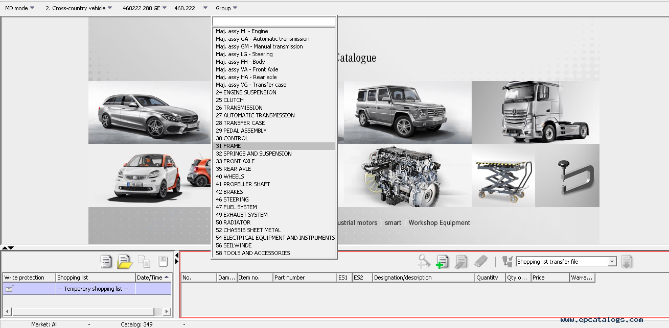 Mercedes benz epc ewa net electronic parts catalog autos for Mercedes benz part catalog