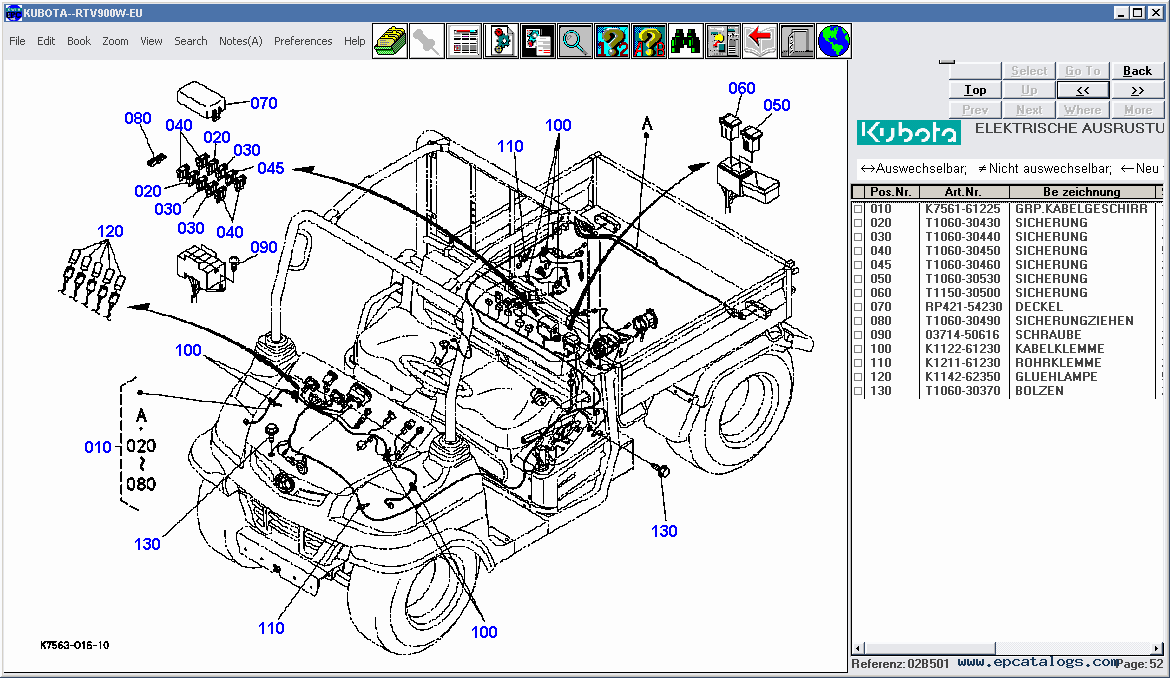 b7100 kubota tractor wiring diagram  b7100  free engine Residential Electrical Wiring Diagrams Simple Wiring Diagrams