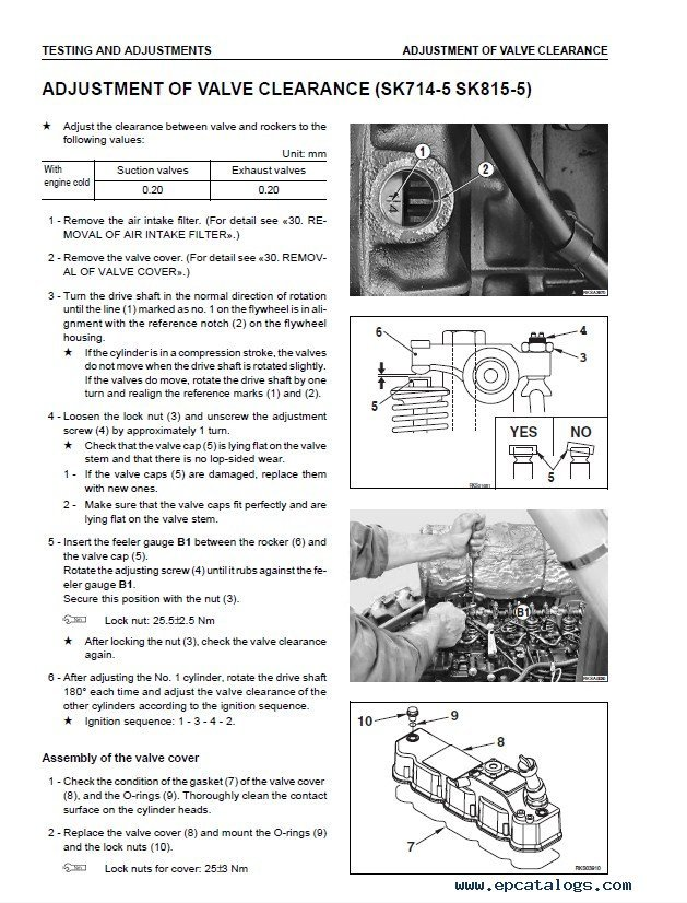 komatsu sk714 5 sk815 5 sk815 5 turbo loader shop manual pdf rh epcatalogs com