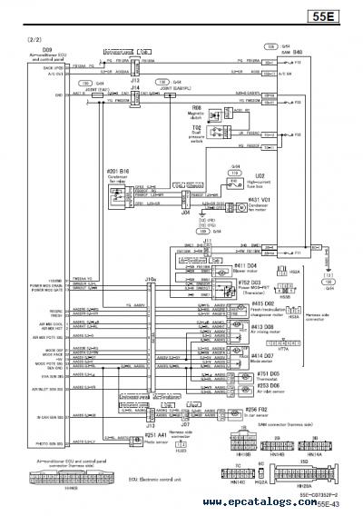 Mitsubishi Fuso Wiring Diagram