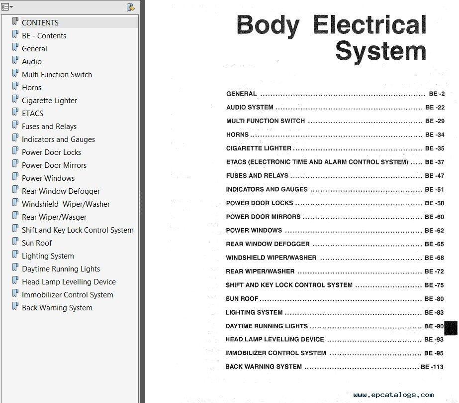 hyundai h1 workshop manual pdf image collections
