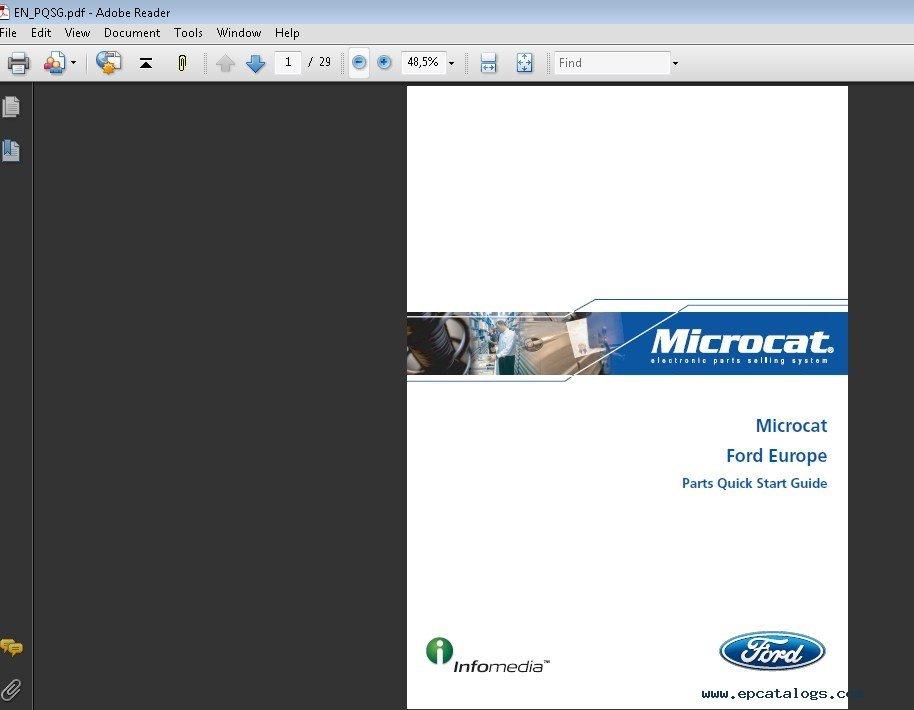 microcat ford europe x64