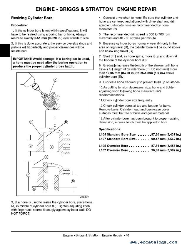 John Deere L130 Operating Manual