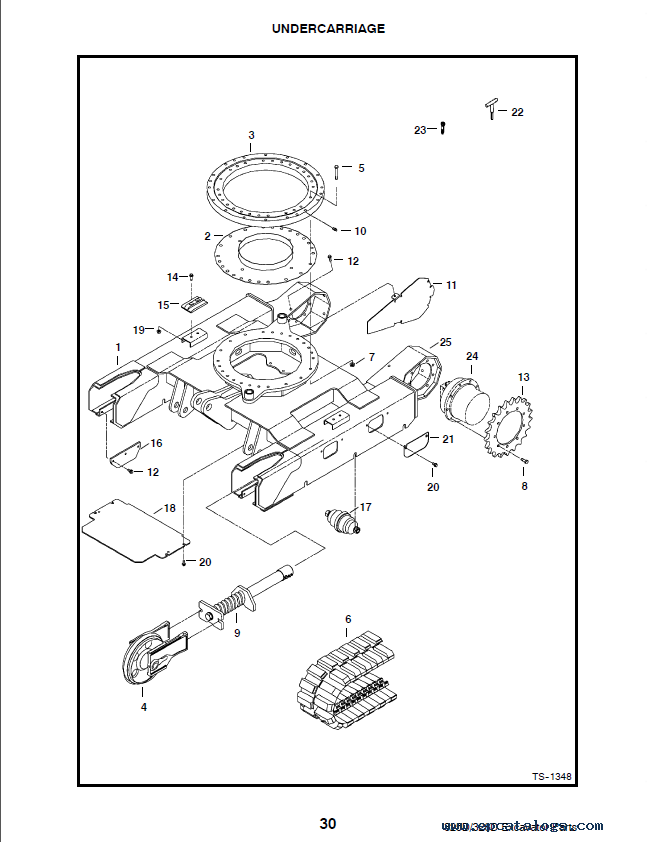 Bobcat 325 328 D Series Excavator Parts Manual Preliminary