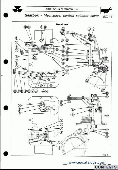 massey ferguson tractors 6100 series repair manual download. Black Bedroom Furniture Sets. Home Design Ideas