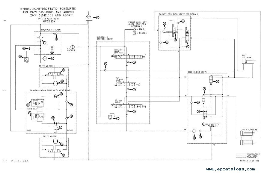 bobcat 450 453 bcis skid steer loader service repair manual pdf 453 bobcat wiring diagram kohler engine wiring diagrams \u2022 wiring bobcat wiring diagram at gsmportal.co