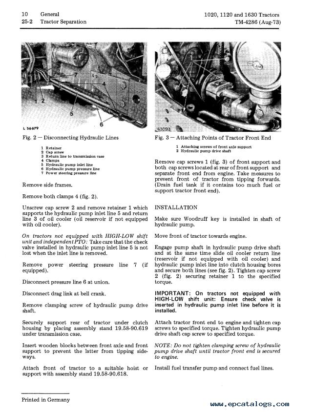 Pdf download] john deere shop manual 1020 1520 1530 2020+ (i&t.