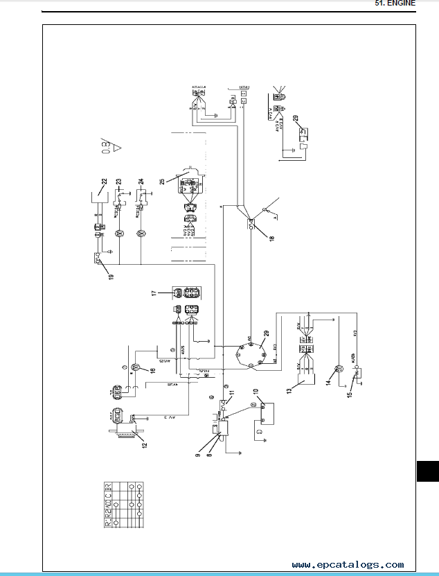 isuzu 3ld1 engine diagram isuzu 3cd1 engine wiring diagram