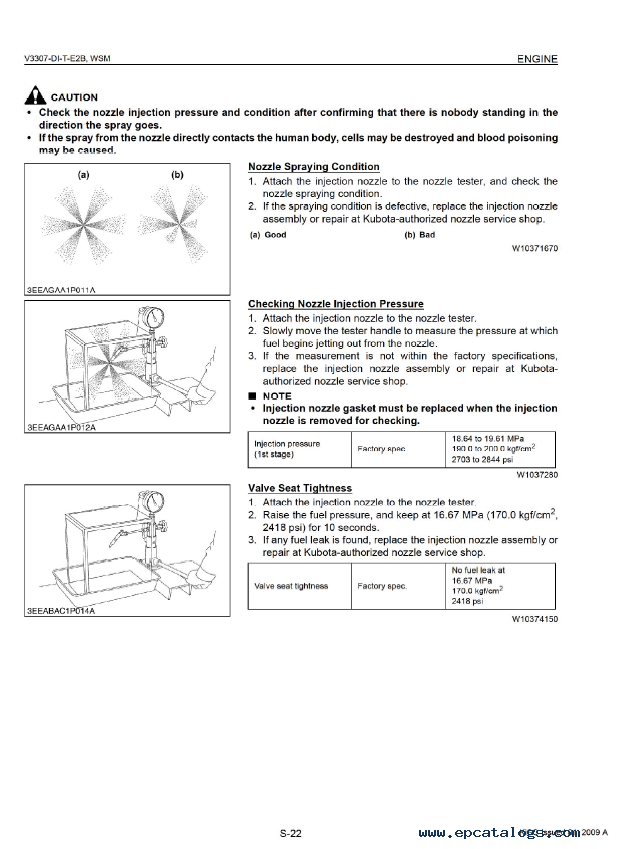 kubota v3307 di t e2b diesel engine workshop manual pdf rh epcatalogs com kubota workshop manual d115 kubota workshop manual 2001 bx2200d
