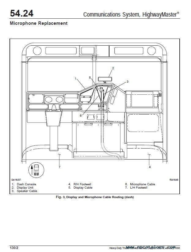 Freightliner Heavy Duty Trucks Service Manual PDF