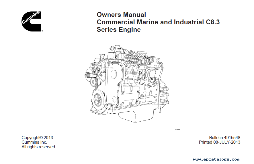 download cummins c8 3 series engine owners manual pdf rh epcatalogs com