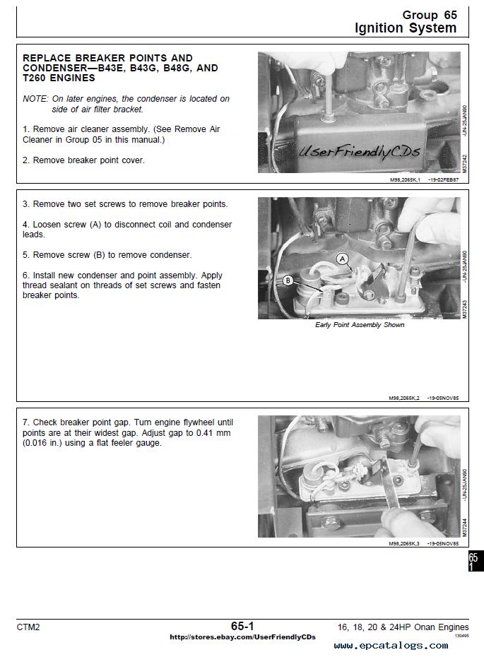 john deere 16 18 20 24hp onan engine pdf manual ctm2 rh epcatalogs com onan p218g engine manuals onan engine parts manual