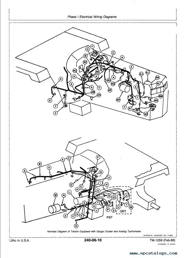 Jd 120c John Deere Wiring Diagram