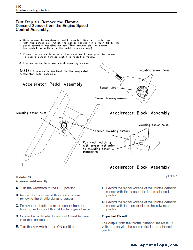 Perkins New 1000 Series And 1104 Series Workshop Manuals PDF