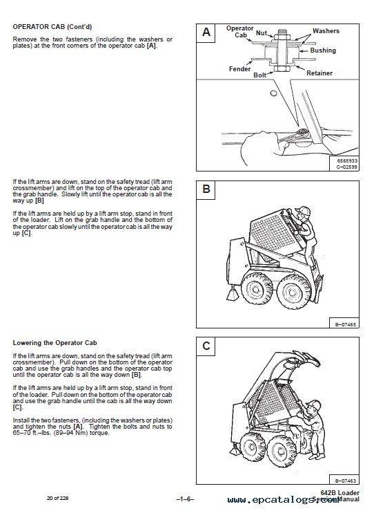 bobcat s185 owners manual pdf