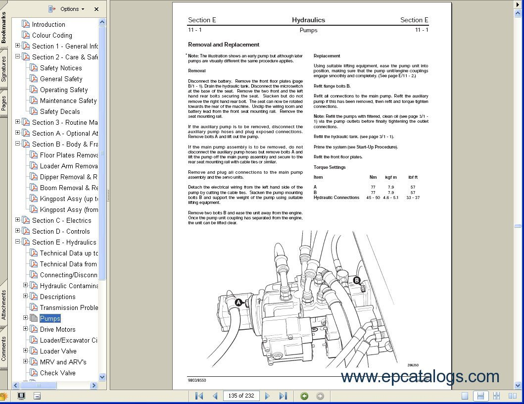 jcb service manuals s2a electronic catalog download